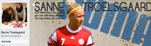 Sanne Troelsgaard Facebookside - Stine Bo