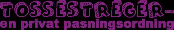 Tossestreger privat pasningsordning logo - Stine Bo